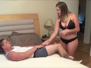 fresh yankee stunner gets jizz flow..