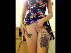 What a silly tattoo, rose. Why, this..
