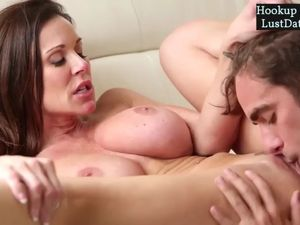 Red-hot stepmom ravaging firm with..